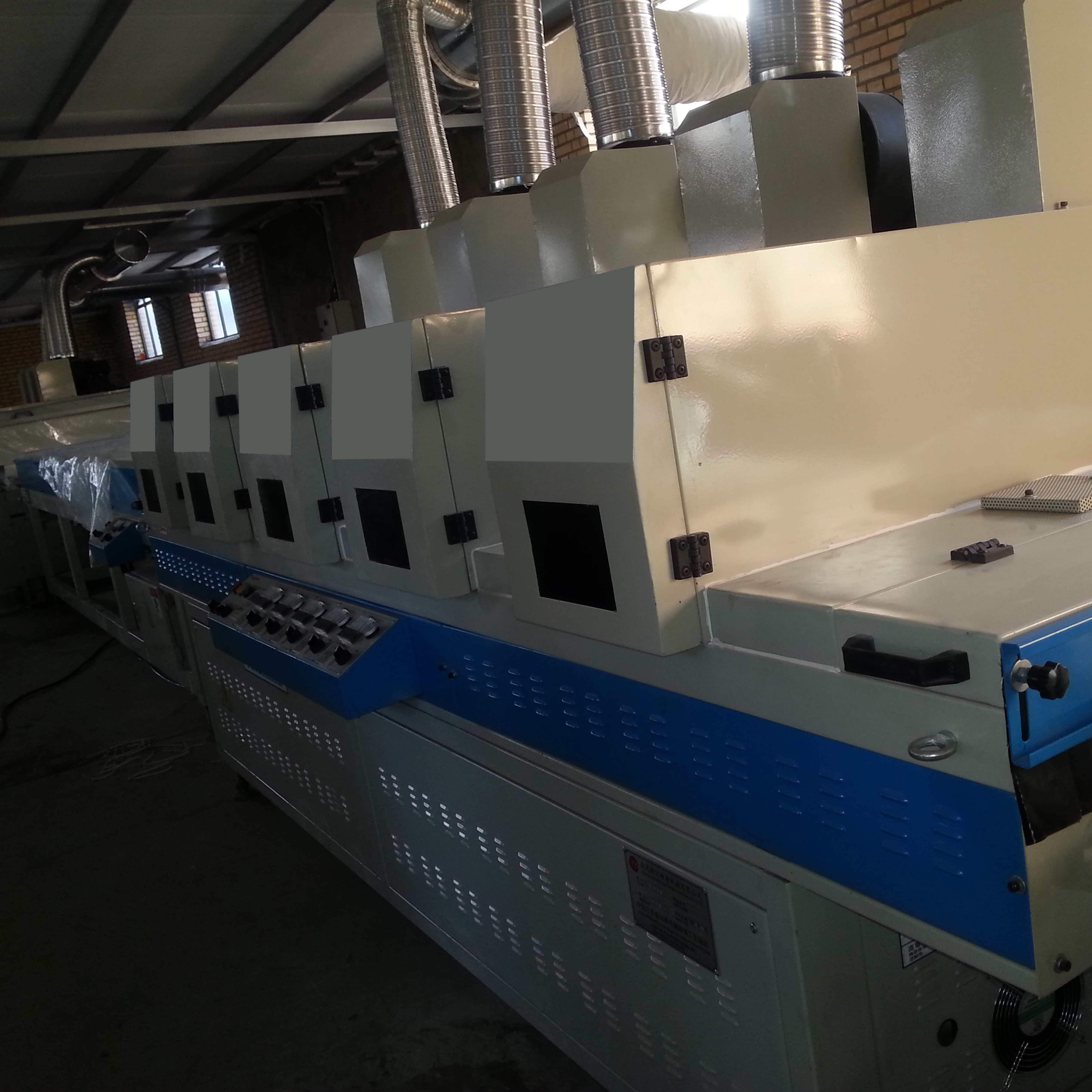 UV Coating Line for PVC Floor Tile Production